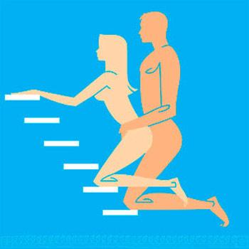 Làm tình trên cầu thang